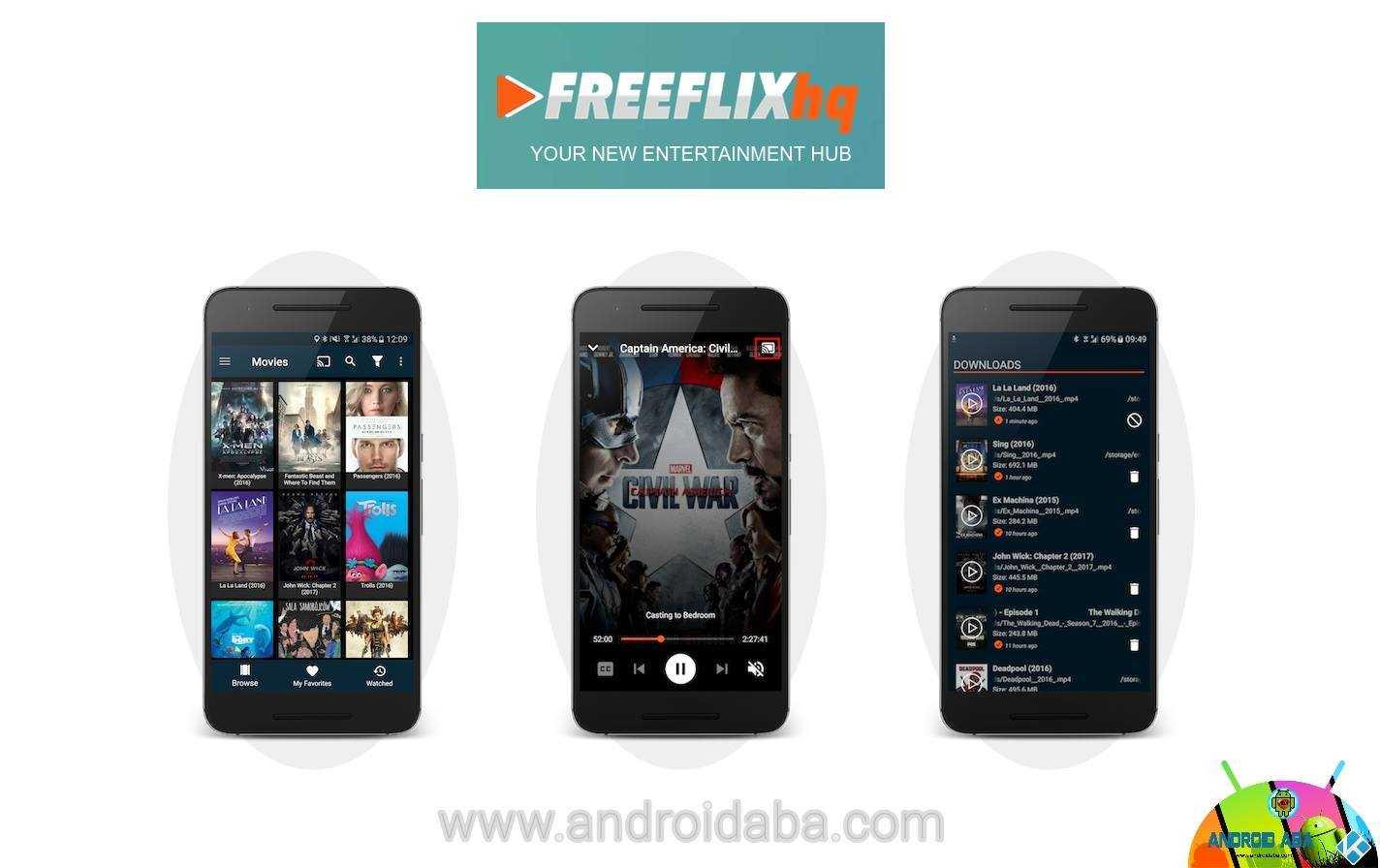 Freeflix hq film serie tv cartoni animati e live tv su android